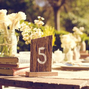 Seating Charts, Wishing Wells & Table Numbers