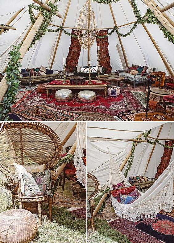 Teepee Love 3 Tips To Styling A Tipi Wedding The