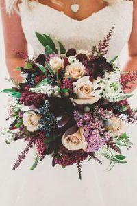 flowers burgundy
