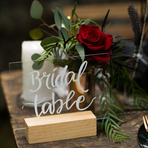 Styled Photoshoot - Mount Keira Scout Camp - The Wedding & Event Creators