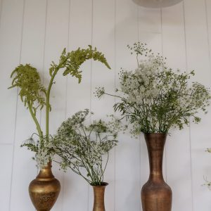 VASES, JARS AND GLASSWARE